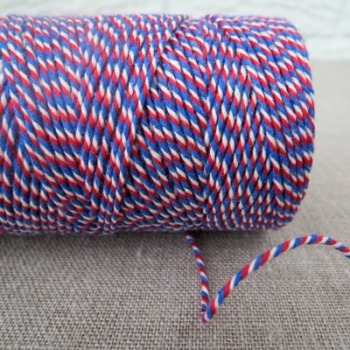 Beautiful Bakers Twine ~ Red, White and Blue