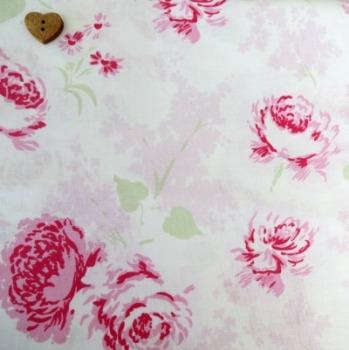 P & B Textiles ~ Ballet Rose ~ Large Roses Pink