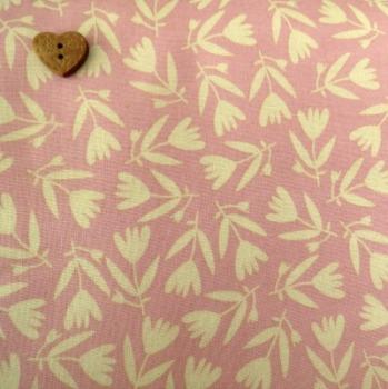 Windham Fabrics ~ Petite Fleur Organic ~ Tulips Blush