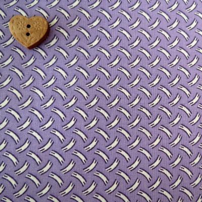 Marcus Brother Fabrics ~  Aunt Grace Miniatures ~ Basket Weave Purple
