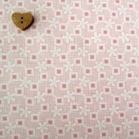 Robert Kaufman Fabrics ~ Penny and Friends ~ Floral Crosshatch Camellia