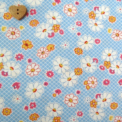 Robert Kaufman Fabrics ~ Penny and Friends ~ Large Floral Lake