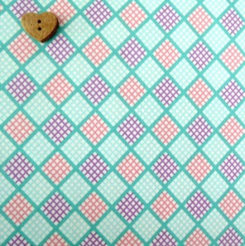Robert Kaufman Fabrics ~ Penny and Friends ~ Plaid Aloe