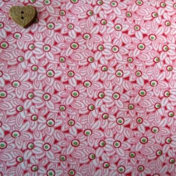 Moda Fabrics ~ Pedal Pushers ~ Feedsack Floral Raspberry