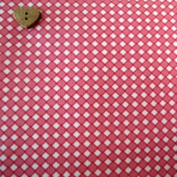 Moda Fabrics ~ Pedal Pushers ~ Wicker Check Raspberry