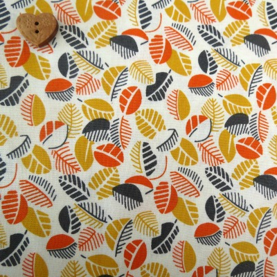 Windham Fabrics ~ Mimosa ~ Leaves in Yellow