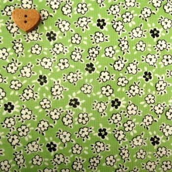 Windham Fabrics ~ Playdate ~ Blossom Flower Green
