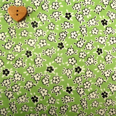 Windham Fabrics ~ Playdate ~ Blossom Flower Green