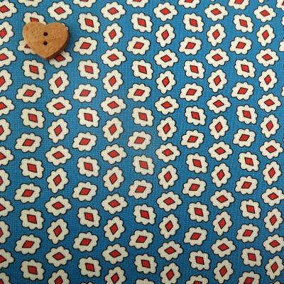 Windham Fabrics ~ Playdate ~ Diamond Flower Blue