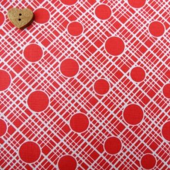 Michael Miller ~ Vintage Florals ~ Babs Red