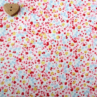 Penny Rose Fabrics ~ 30's Minis ~ Floral Red
