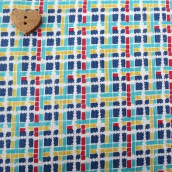 Penny Rose Fabrics ~ 30's Minis ~ Plaid Blue