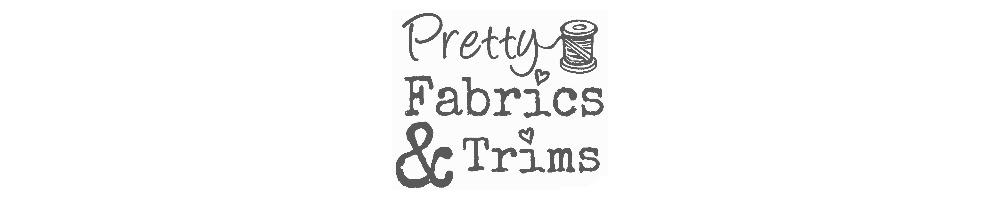 PrettyFabricsandTrims, site logo.