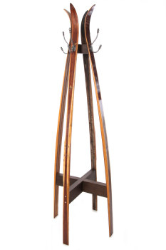 Vintage Ski Free Standing Coat Stand