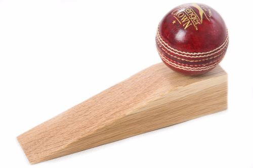 Cricket ball door stop for Door stop idea