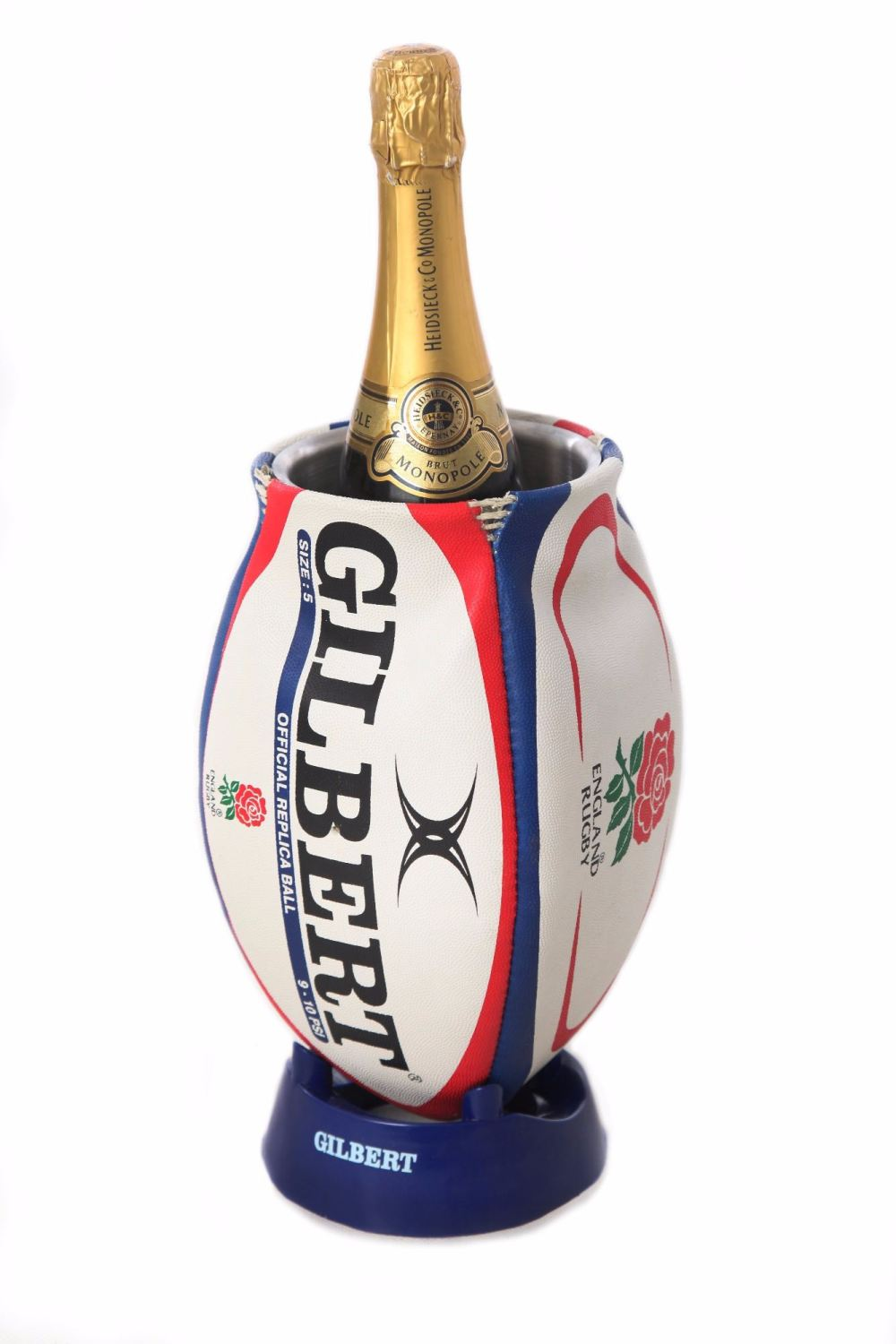 England Rugby Ball Wine Cooler