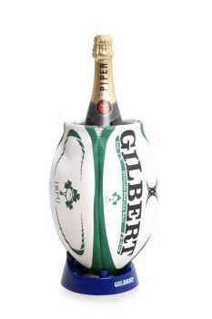 Ireland Rugby Ball Wine Cooler