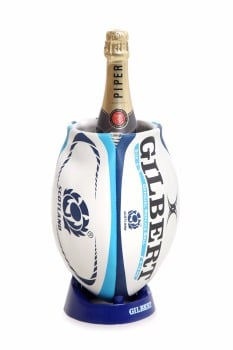 Scotland Rugby Ball Wine Cooler