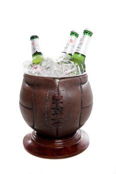 Vintage Football Ice Bucket