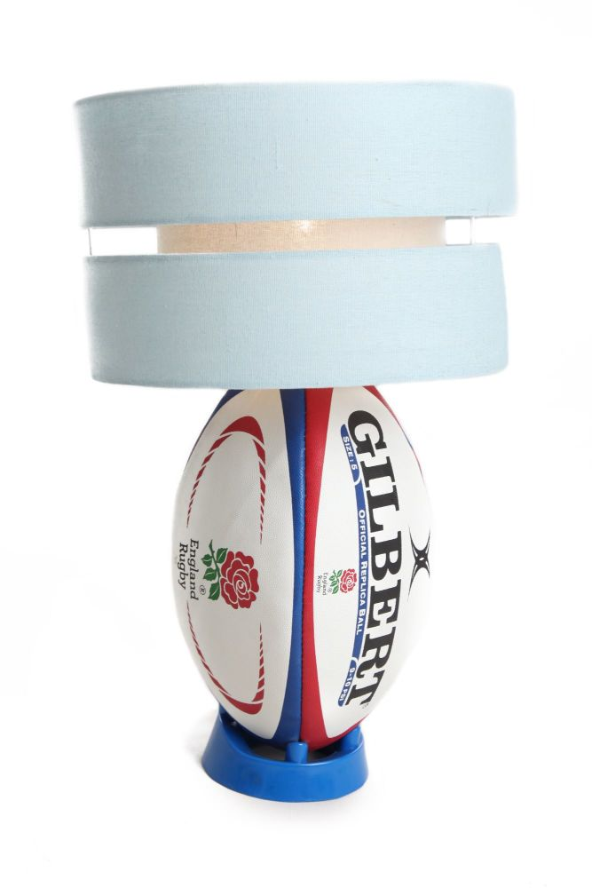 England Rugby Ball Light with Lampshade