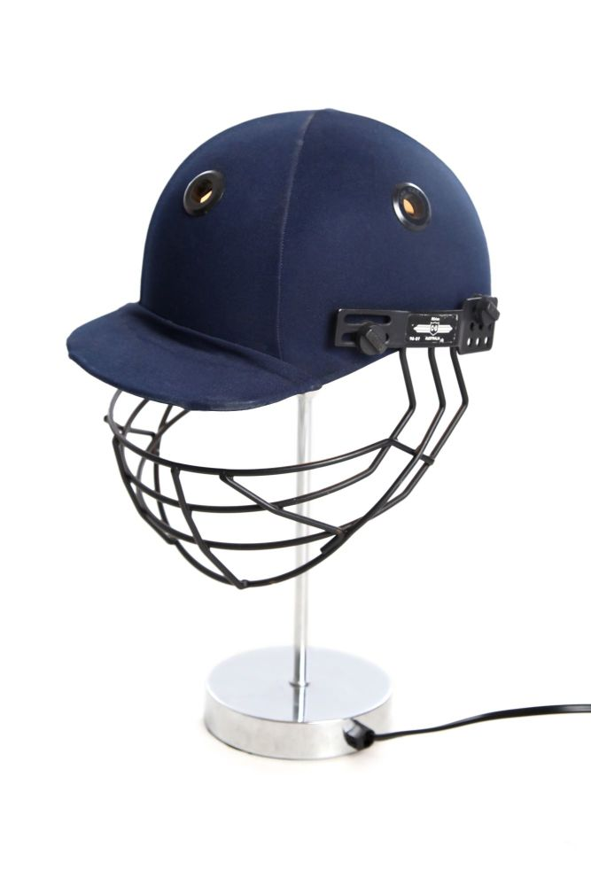 Cricket Helmet Table Lamp