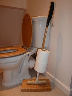 Polo Stick Loo Roll Holder