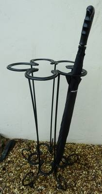 Horse Shoe Umbrella Stand