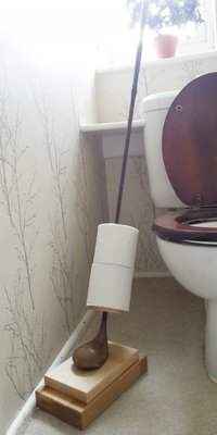 Golf Club Loo Roll Holder