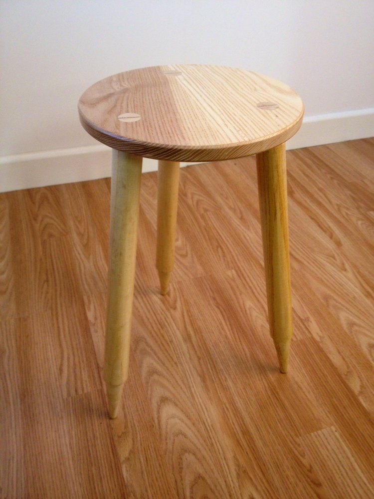 Cricket Bat Stool