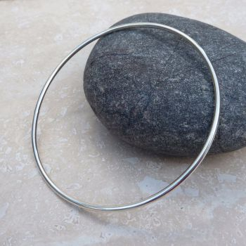 Sterling Silver 2mm Polished Bangle
