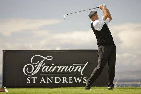 Taxi transfer from the Fairmont Hotel, St Andrews to Aberdeen Airport (maxi