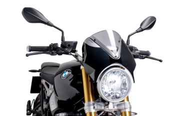 BMW R Nine T Nose Screen Light Smoke / Black 440201H