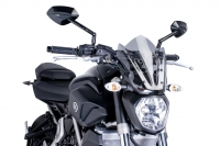 Yamaha MT07 (14-17) Sport Style Screen: Smoke M7015F