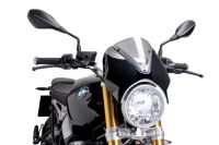BMW R Nine T Nose Screen Carbon Look / Dark Smoke M7559F