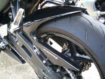 Kawasaki ZX6 (09-12) Hugger: Black X-073231B