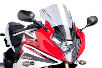 Honda CBR600F (11-13) Race Style Screen: Light Smoke X-410056H
