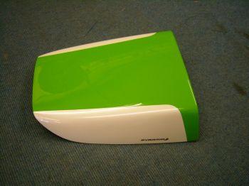 Kawasaki ZX7R / ZXR750 Solo Seat Cowl: Green - White 13586B