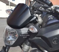 Yamaha MT07 / FZ07 Fly Screen: Black 22137B