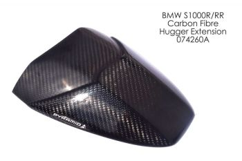 BMW S1000R (09+) Rear Hugger Extension Carbon 074260A