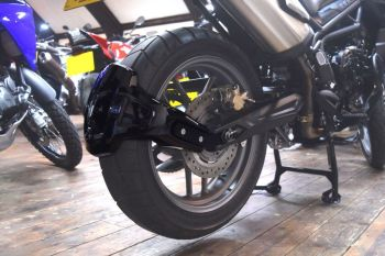 Triumph Tiger 800 Rear Spray Guard  Rear Hugger Alternative Gloss Black 085602B