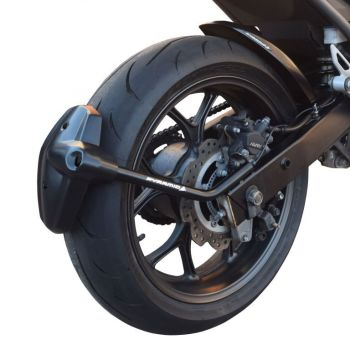 Honda NC700 / NC750 Rear Spray Guard Hugger Alternative Black 085100B