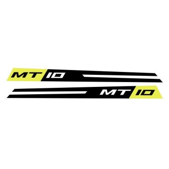Yamaha MT10 Fairing Panel Decal Night Flou Grey CBRA0012A