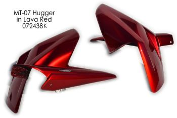 Yamaha MT07 (13+) Rear Hugger: Metallic Red 072438K