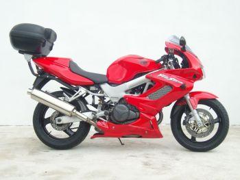 Honda VTR1000 Belly Pan / Spoiler: Red 21200E