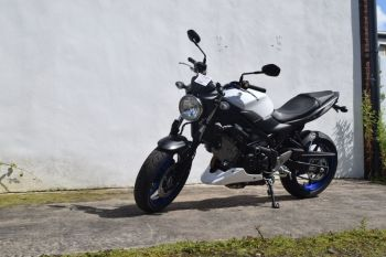 Suzuki SV650 (16+) Belly Pan White 20681C