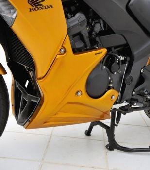 Honda CBF1000FA Belly Pan: Pearl Amber Yellow 890171117