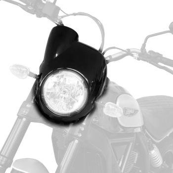 Ducati Scrambler Sixty 2 / Cafe Racer Nose Fairing Gloss Black 250000B
