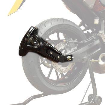 Yamaha Tracer 700 (16+) Rear Spray Guard Hugger Alternative Gloss Black 085202B