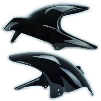 Suzuki GSX1250FA (10-16) Rear Hugger: Gloss Black 070400B