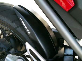 Honda NC750S / NC750X  Rear Hugger: Black 071800M